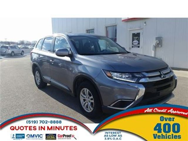 2016 MITSUBISHI OUTLANDER ES   AWD   HEATED SEATS   FAMILY READY in London, Ontario