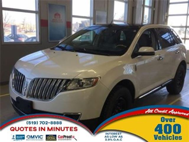 2012 LINCOLN MKX AWD   NAVIGATION   DVD   LEATHER in London, Ontario