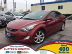 2013 Hyundai Elantra L   NAVIGATION   LEATHER   ROOF in London, Ontario