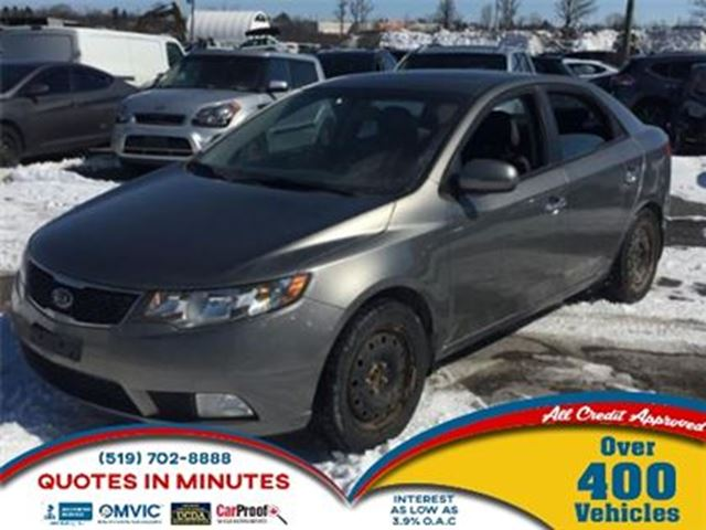 2012 KIA Forte SX LUXURY   LEATHER   ROOF   HEATED SEATS in London, Ontario
