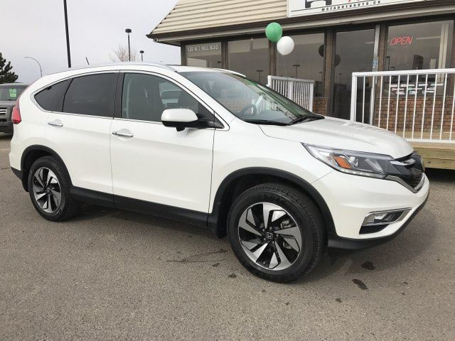 2016 honda cr v touring lethbridge alberta used car for for Honda crv 2016 white