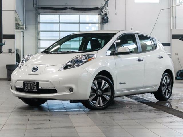 2015 nissan leaf sl electric w quick charge kelowna british columbia used car for sale 2734885. Black Bedroom Furniture Sets. Home Design Ideas