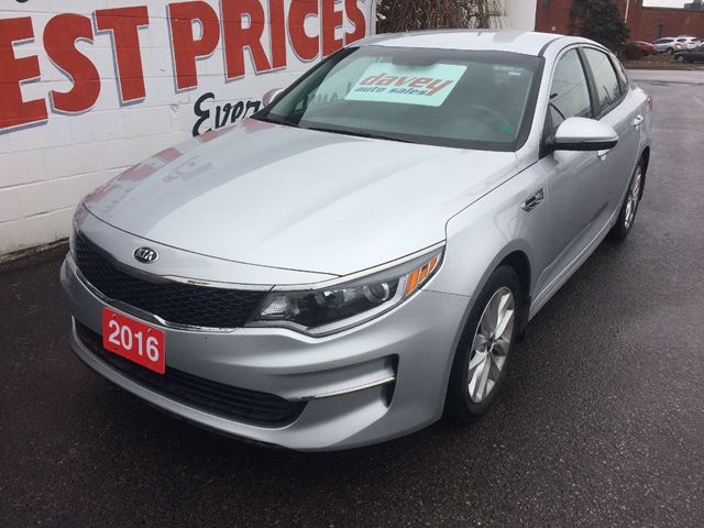 2016 KIA OPTIMA LX HEATED SEATS, BACK UP CAMERA, BLUETOOTH in Oshawa, Ontario