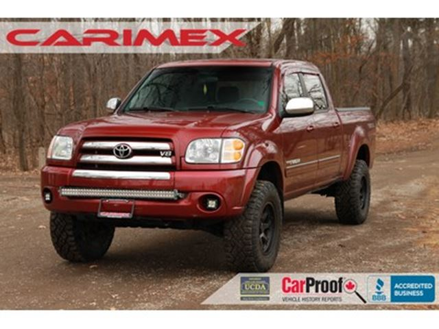 2004 Toyota Tundra V8   CERTIFIED + E-Tested in Kitchener, Ontario