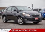 2010 Toyota Matrix Base, Trade In, Black, Carproof Clean, Safety and in Brantford, Ontario