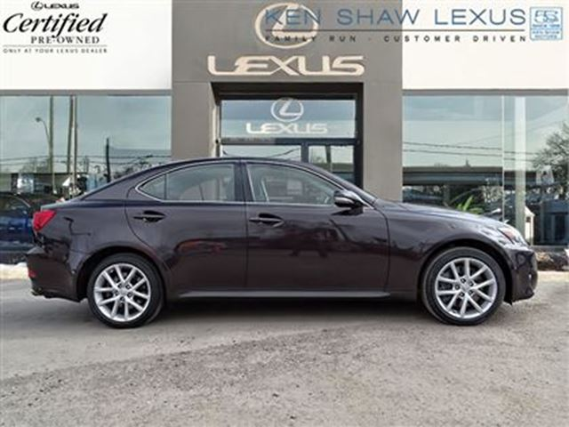 2012 lexus is 350 navigation awd toronto ontario used car for sale 2736053. Black Bedroom Furniture Sets. Home Design Ideas