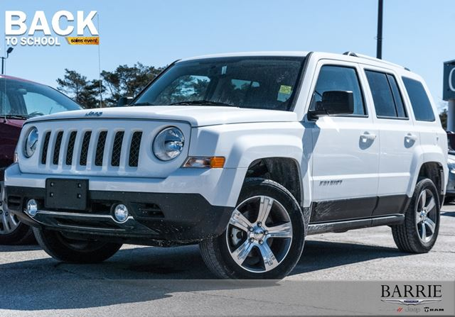 used 2016 jeep patriot high altitude leather sunroof barrie. Black Bedroom Furniture Sets. Home Design Ideas