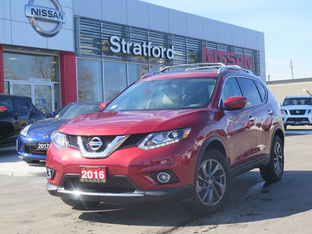 2016 nissan rogue sl stratford ontario car for sale 2736110. Black Bedroom Furniture Sets. Home Design Ideas