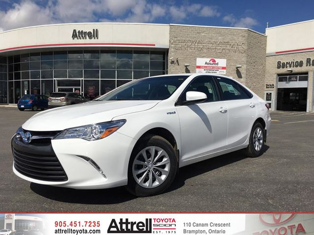 2017 toyota camry hybrid white blizzard pearl attrell toyota. Black Bedroom Furniture Sets. Home Design Ideas