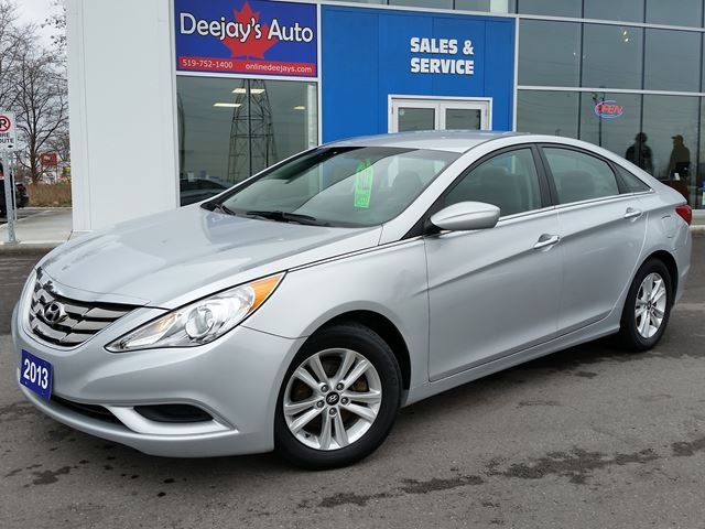 2013 hyundai sonata gl silver deejays auto sales service. Black Bedroom Furniture Sets. Home Design Ideas