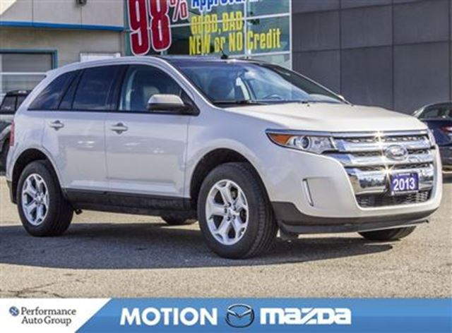 2013 FORD EDGE SEL Pano-roof Leather Remote Start in Orangeville, Ontario
