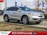2015 Acura RDX Leather Moon Roof Bluetooth Accident Free in Bolton, Ontario