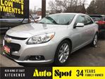 2015 Chevrolet Malibu LT/LOW,LOW KMS!/INVENTORY CLEAROUT/PRICED FOR A Q in Kitchener, Ontario