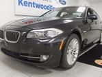 2011 BMW 5 Series 535i xDrive with lane departure and lane assist AND heated seats, in comfort and luxury in Edmonton, Alberta
