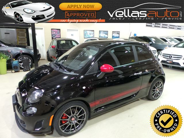 2015 FIAT 500 Abarth ABARTH| 5SPD| BEATS BY DR DRE in Vaughan, Ontario