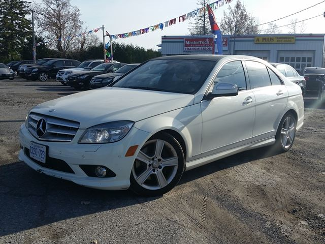 2009 mercedes benz c class 3 0l white autofind. Black Bedroom Furniture Sets. Home Design Ideas