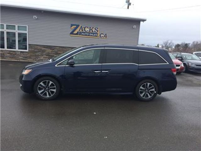 2014 honda odyssey touring truro nova scotia used car for sale 2737351. Black Bedroom Furniture Sets. Home Design Ideas