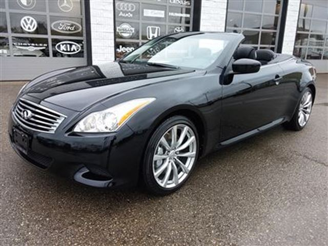 2009 infiniti g37 sport package camera leather vented heated guelph ontario used car for sale. Black Bedroom Furniture Sets. Home Design Ideas
