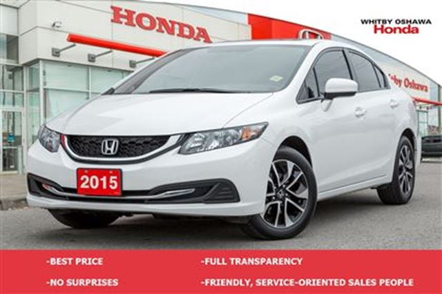 2015 honda civic ex whitby ontario used car for sale 2737468. Black Bedroom Furniture Sets. Home Design Ideas