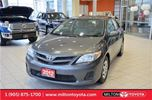 2012 Toyota Corolla CE 5 Speed, Bluetooth, Keyless Entry in Milton, Ontario