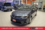 2014 Toyota Corolla LE Auto, Rear Camera, Heated Seats, Bluetooth in Milton, Ontario