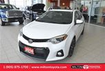 2014 Toyota Corolla S Technology, Leather, Navigation, Sunroof in Milton, Ontario