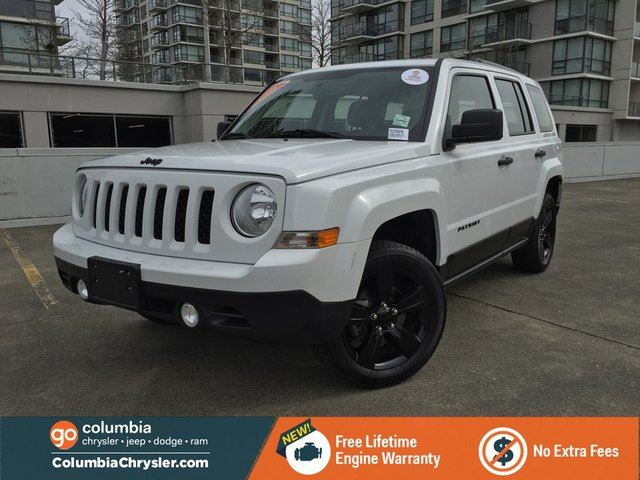 2015 JEEP PATRIOT ALTITUDE EDITION, GREAT CONDITION, LOW MILEAGE, FREE LIFETIME ENGINE WARRANTY! in Richmond, British Columbia