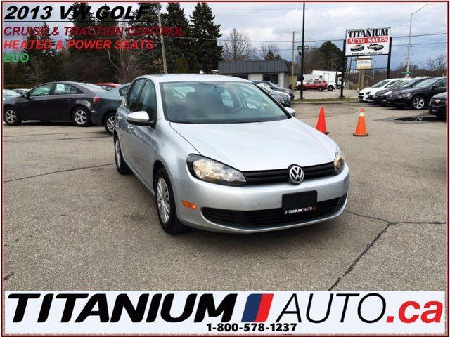 2013 VOLKSWAGEN GOLF 2.5L+Heated Power Seats+Traction & Cruise Control+ in London, Ontario