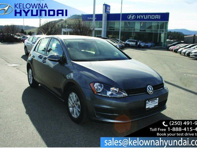 2016 VOLKSWAGEN GOLF 1.8 TSI Trendline 4dr Hatchback in Kelowna, British Columbia