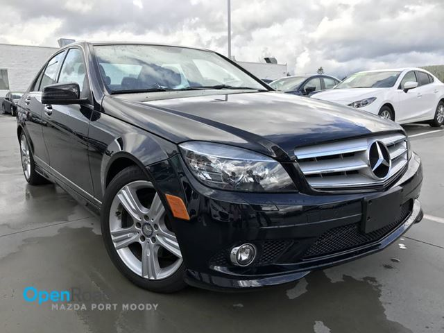 2010 MERCEDES-BENZ C-CLASS C300 V6 A/T 4MATIC Local Leather Sunroof Blutoo in Port Moody, British Columbia