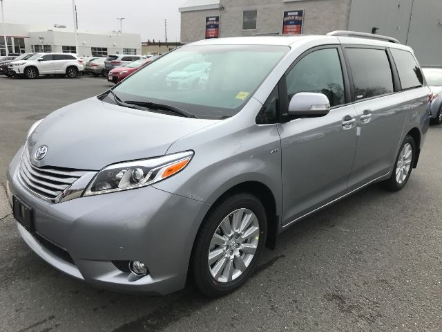 2017 toyota sienna xle awd limited package cobourg ontario car for sale 2737876. Black Bedroom Furniture Sets. Home Design Ideas