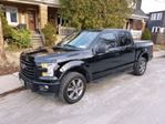 2016 Ford F-150 4x4 Crew Cab V8 SPORT in Mississauga, Ontario