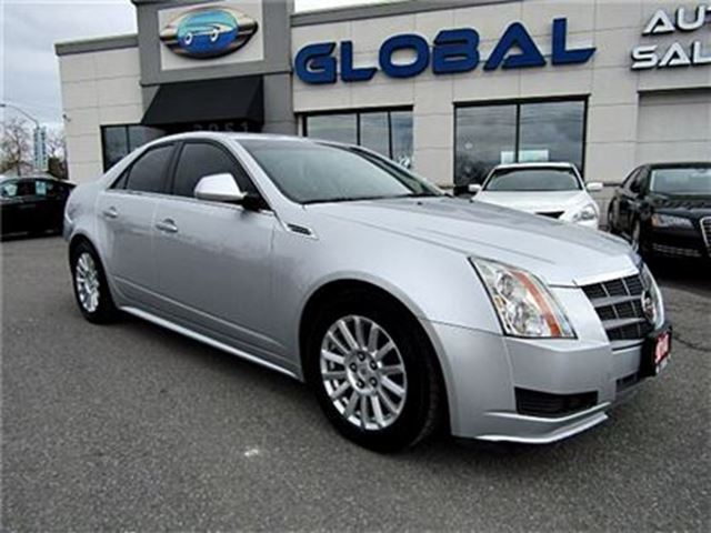 2010 Cadillac CTS 3.0L PANORAMIC ROOF, HEATED SEATS, LEATHER . in Ottawa, Ontario