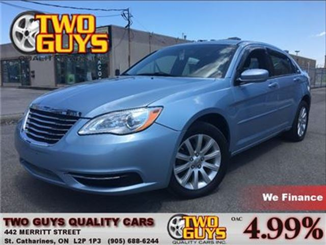 2012 CHRYSLER 200 LX NICE CLEAN CAR! 4 NEW TIRES in St Catharines, Ontario