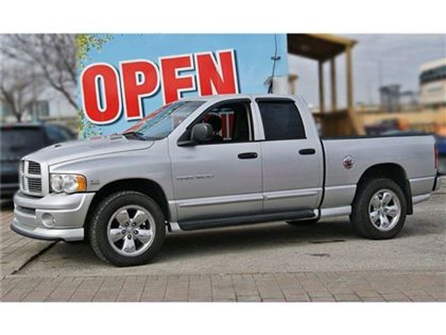 2005 dodge ram 1500 slt laramie slt daytona low km 4x4 20 wheels silver humberview chevrolet. Black Bedroom Furniture Sets. Home Design Ideas
