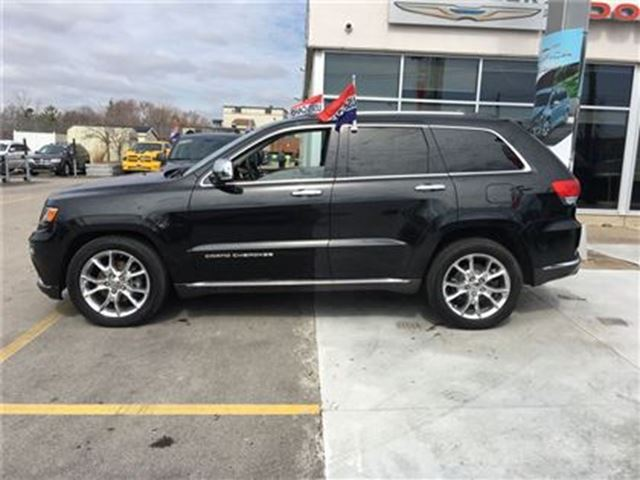 2015 jeep grand cherokee summit fully loaded burlington ontario car for sale 2738963. Black Bedroom Furniture Sets. Home Design Ideas