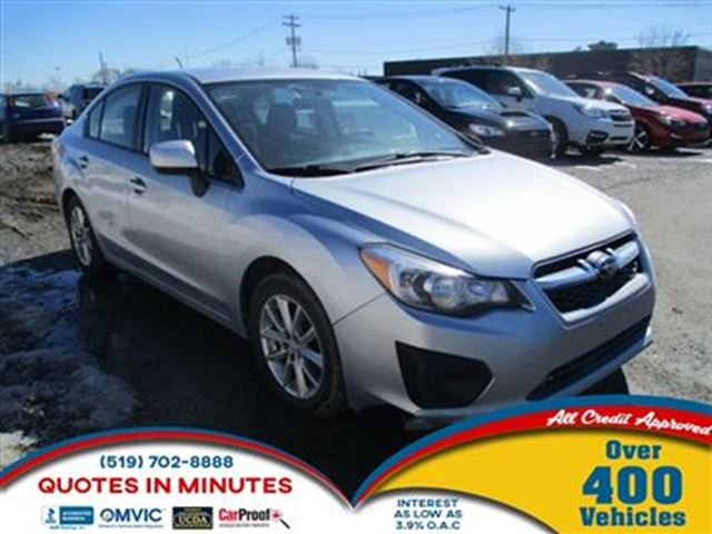 2013 SUBARU IMPREZA 2.0i   AWD   HEATED SEATS in London, Ontario