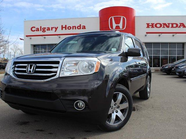 2014 honda pilot touring 4wd 5at calgary alberta used car for sale 2739116. Black Bedroom Furniture Sets. Home Design Ideas