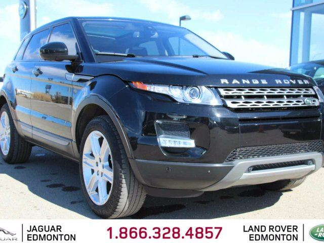 2015 LAND ROVER RANGE ROVER EVOQUE Pure Premium - CPO 6yr/160000kms manufacturer warranty included until Feb 27, 2021! CPO rates starting at 2.9%! Local One Owner Trade In | Navigation | Surround Camera System | Parking Sensors | Adaptive Xenon Headlamps | Panoramic Glass Roof | Heate in Edmonton, Alberta