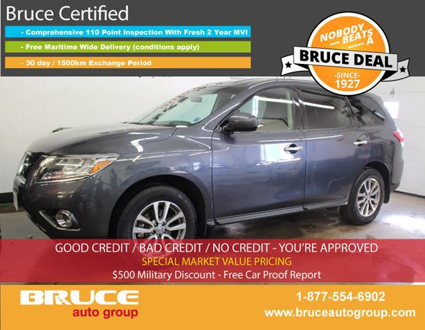 2014 NISSAN PATHFINDER S 3.5L 6 CYL CVT 4WD in Middleton, Nova Scotia