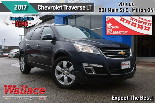 2017 chevrolet traverse lt 1lt factory warranty htd sts rear cam 7 passeng milton ontario car. Black Bedroom Furniture Sets. Home Design Ideas