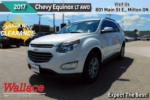 2017 chevrolet equinox lt w 1lt awd sunroof heated seats rear cam demo milton ontario car for. Black Bedroom Furniture Sets. Home Design Ideas