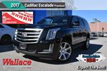 2017 Cadillac Escalade Premium Luxury/DVD-BLURAY/SURROUND VISION/SUN in Milton, Ontario