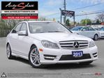 2013 Mercedes-Benz C-Class 4Matic C300 AWD ONLY 93K! **SPORT PKG** CLEAN CARPROOF in Scarborough, Ontario