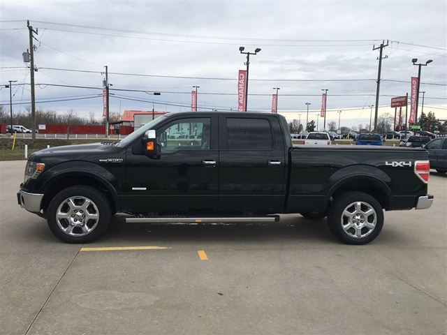 2013 ford f 150 lariat crew ecoboost cayuga ontario used car for sale 2738555. Black Bedroom Furniture Sets. Home Design Ideas