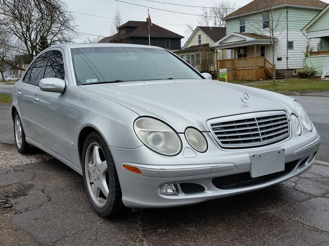 2003 mercedes benz e class 5 0l e500 st catharines ontario car for sale 2739931. Black Bedroom Furniture Sets. Home Design Ideas