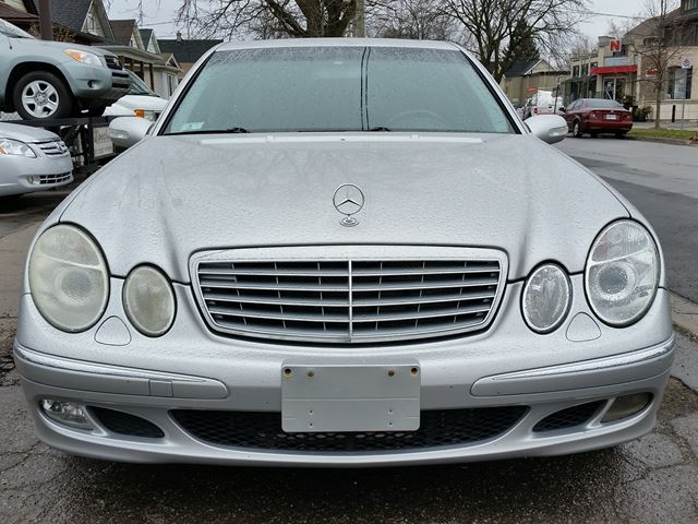 Used 2003 mercedes benz e class 5 0l e500 st for Mercedes benz st catharines