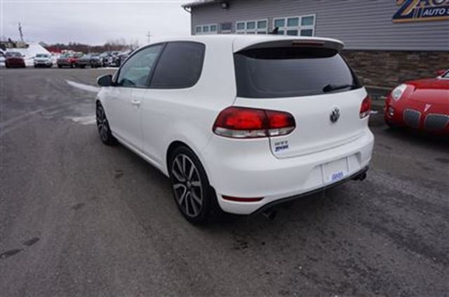 2012 Volkswagen Golf Gti 3 Door M6 Truro Nova Scotia