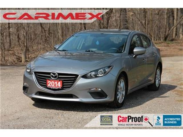 2014 MAZDA MAZDA3 GS-SKY   Bluetooth + CERTIFIED + E-Tested in Kitchener, Ontario