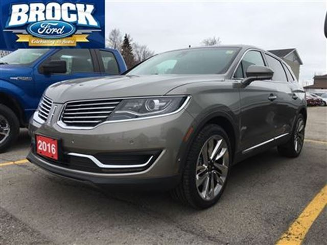 2016 lincoln mkx reserve niagara falls ontario used car for sale 2739922. Black Bedroom Furniture Sets. Home Design Ideas